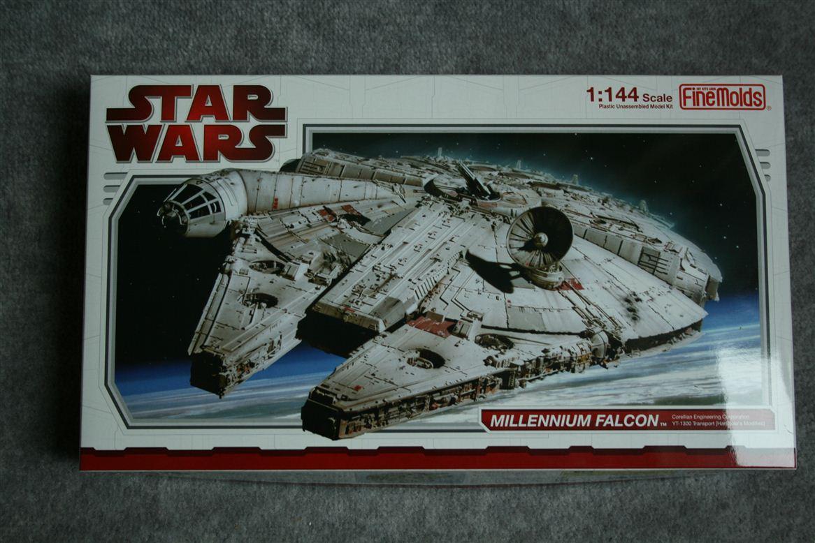 ... .com { Fine Molds 1/144 Millennium Falcon First Look