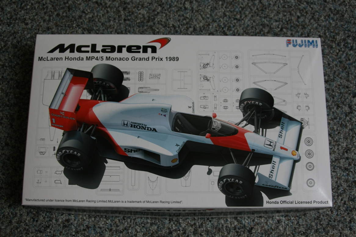 Fujimi 1 20 Mclaren Honda Mp4 5 Monaco Gp 1989