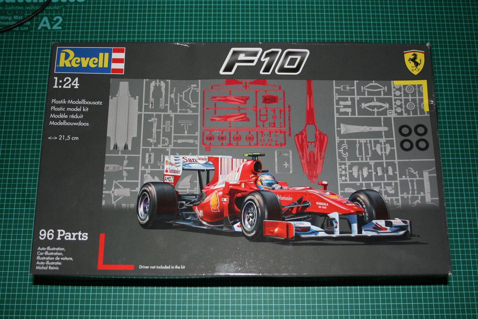 Revell 1 24 Ferrari F10